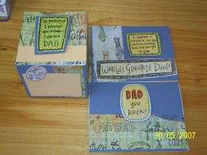 Father's Day Photo Cube and Card Set
