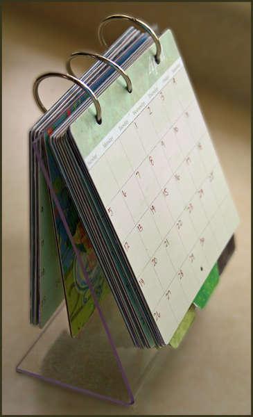 CLEAR SCRAPS - SUMMER CHA '08 - Calendar
