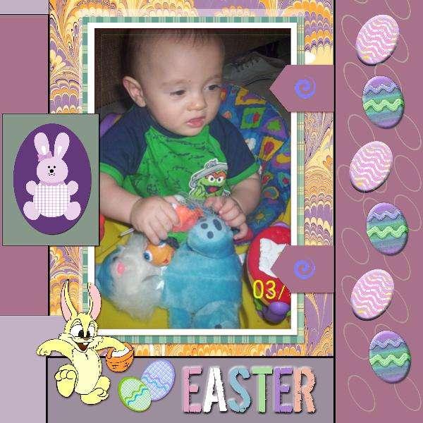 AJ's 1st Easter (DIGI)