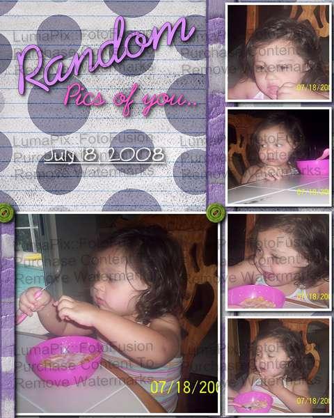 Random Pics of you