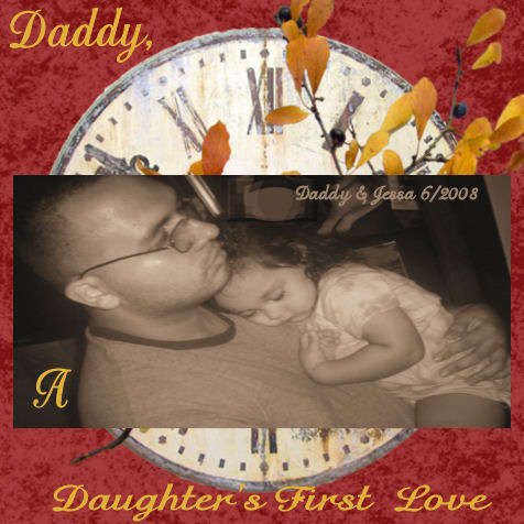Daddy, A Daughter's First Love