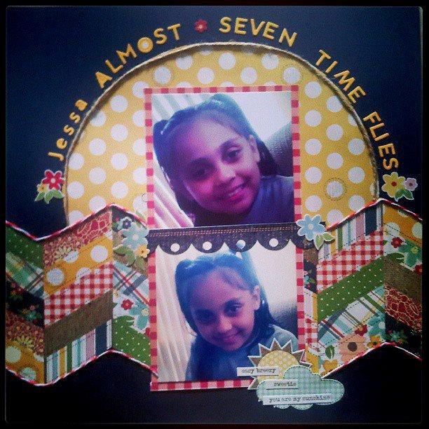 Jessa Almost Seven, Time Flies.