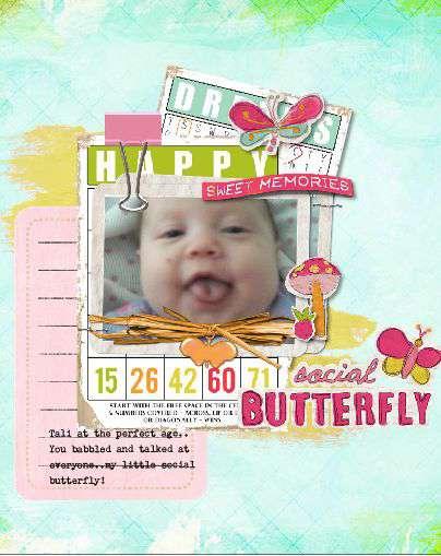 Social Butterfly...