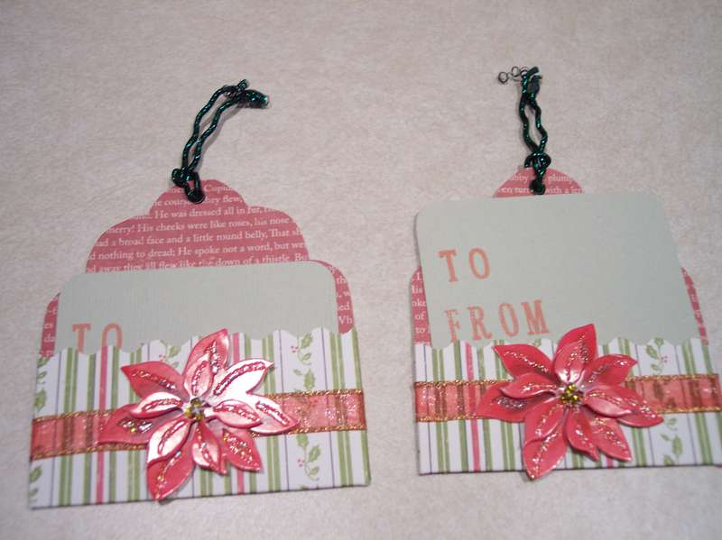 Christmas tag swap