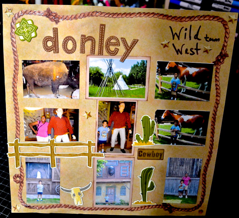 Donely Wild West Town