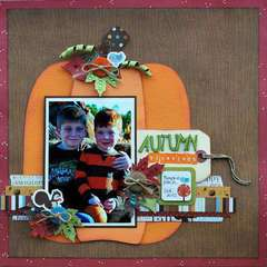 Autumn Blessings *Creative Scrappers 127*