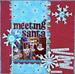 Meeting Santa *Bo Bunny*