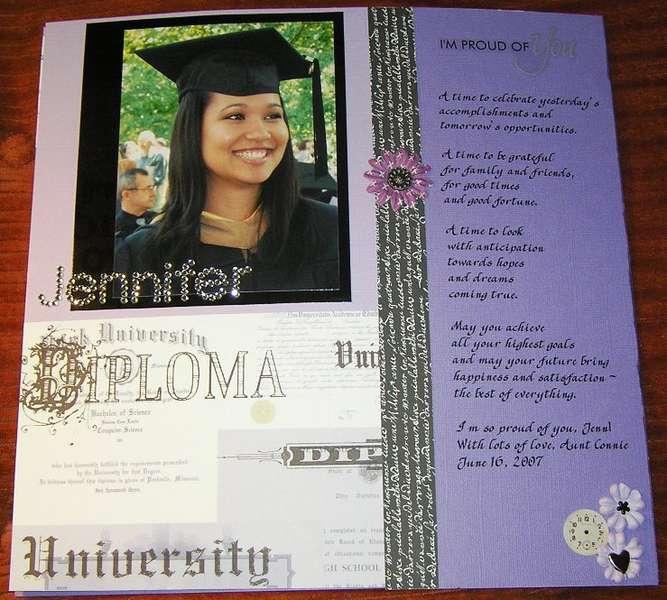 Jenn's Graduation (Left)