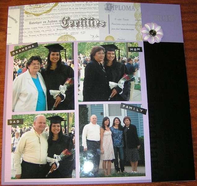 Jenn's Graduation (Right side)