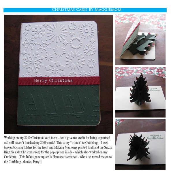 Pop-up Christmas Tree card
