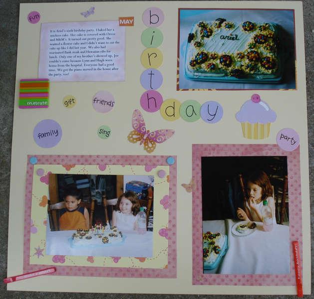 Ariel's 6th Birthday