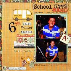 School Band (SRM Stickers)