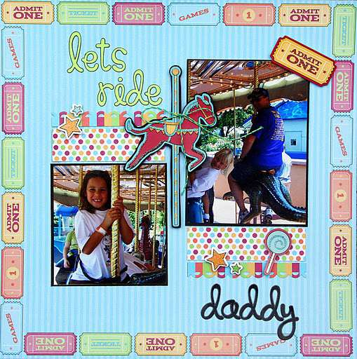 let's ride daddy {Best Creation}