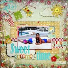 Sweet Summertime {The ScrapRoom}