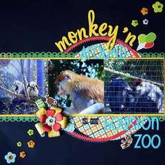 Monkey'n Around at the Houston Zoo