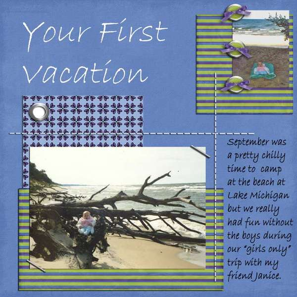Your First Vacation
