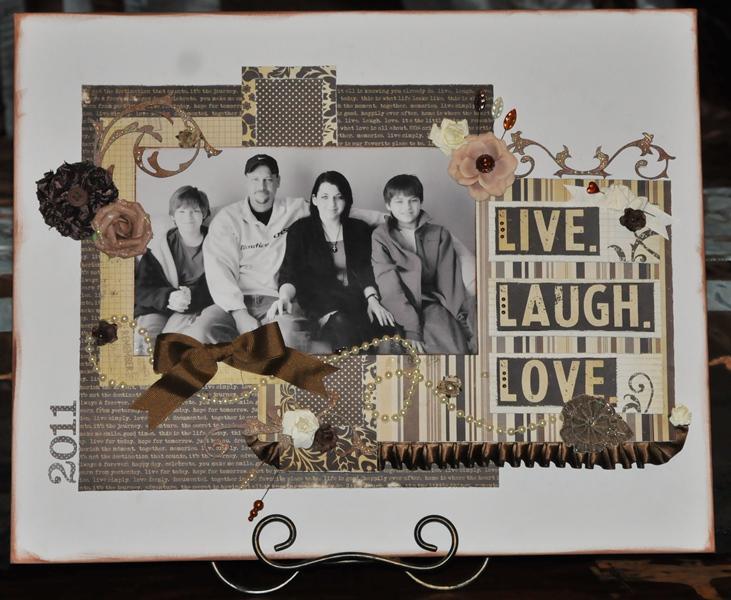 Live Laugh Love Canvas
