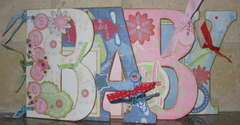 Baby Shower Scrapbook for Twins Boy and Girl