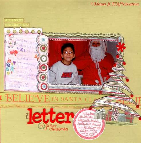 My letter to father Christmas