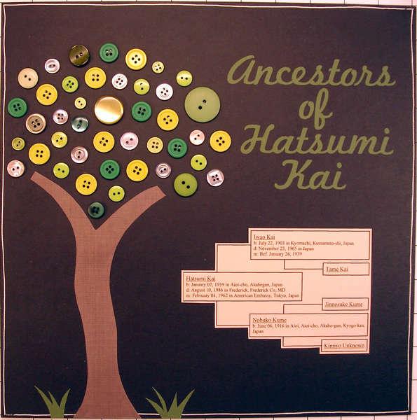 Ancestors of Hatsumi Kai