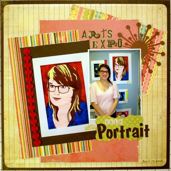 Arts Expo - Self Portrait