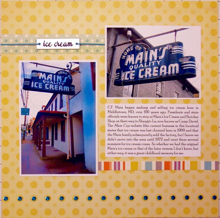 Main's Ice Cream