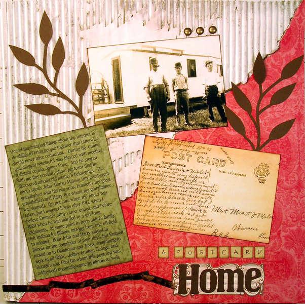 A Postcard Home