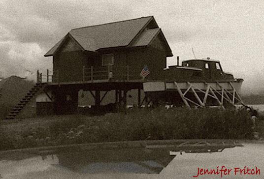 Alaska house, July 4, 2005