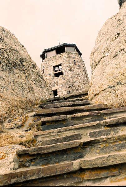 Harney Peak lookout tower