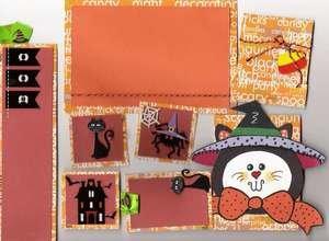 Halloween page kit