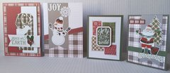Photo Play Mad 4 Plaid Christmas Card Kit