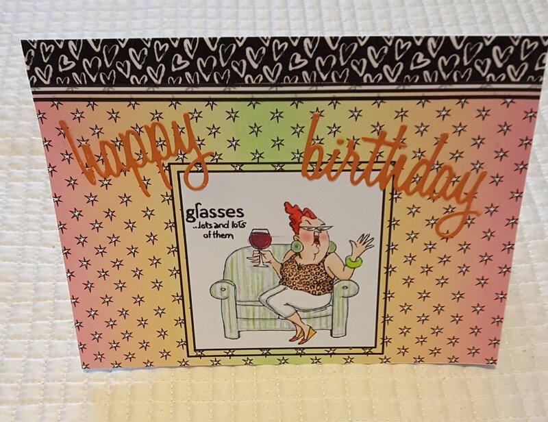 Glasses & More Glasses Birthday Card