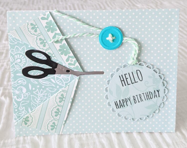 Sew Perfect Birthday Card