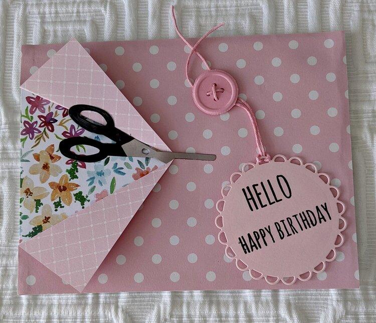 Happy Birthday Sew Perfect Card