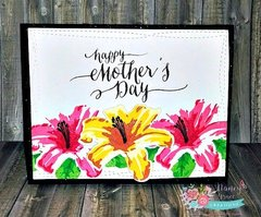Mother's Day cards - Layered Lilies