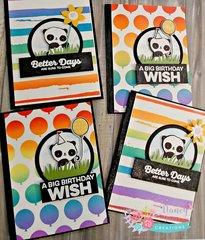 Panda birthday wishing , and brighter days