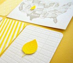 Letterpress Project Life cards