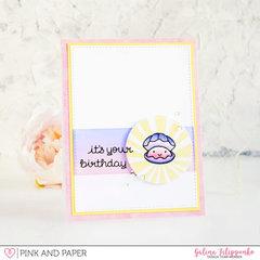 Birthday shell