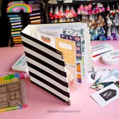 Album 6x9 Swatch book