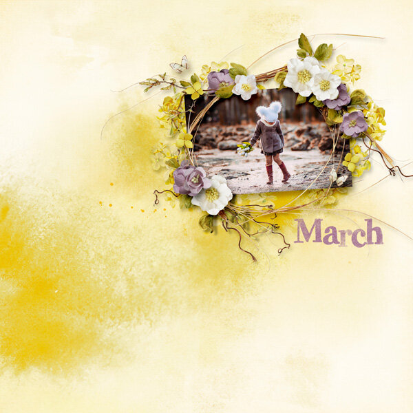 March by Natali designs