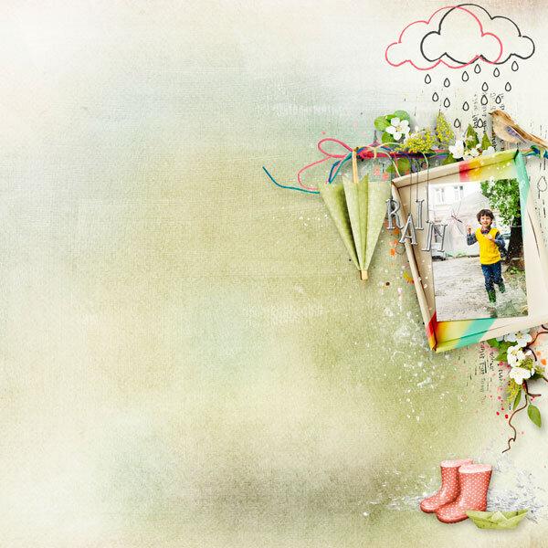 Dance In The Rain by Palvinka Designs