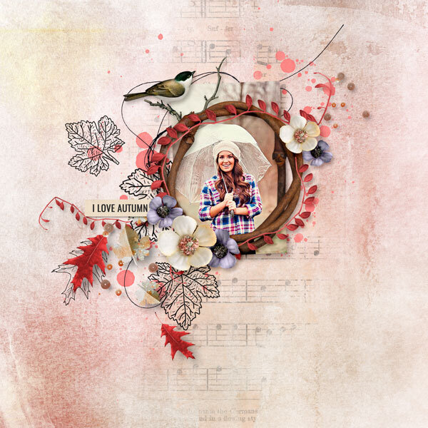 Whisper Of Autumn by Palvinka Designs