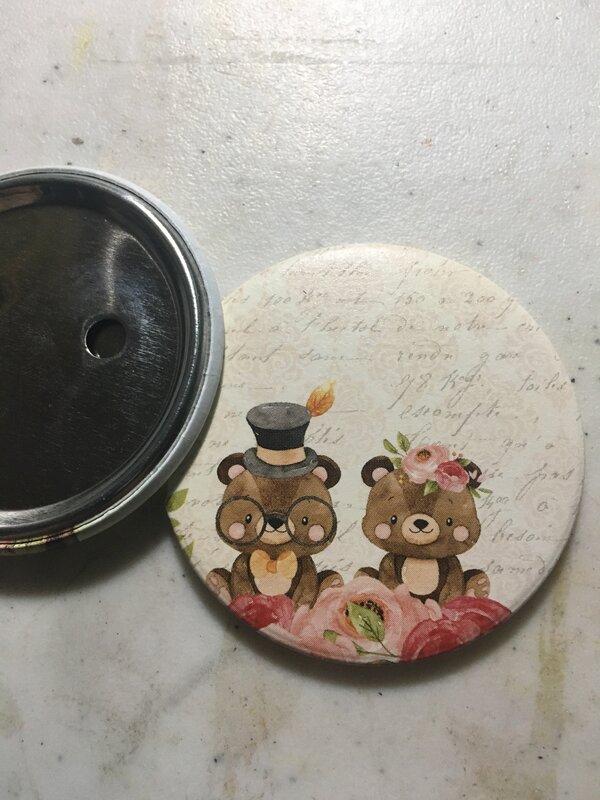 WRMK button press - large button insert