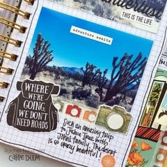 Travel Notes in My Memory Planner