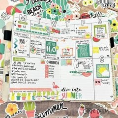 Summer Fun in my Traveler's Notebook