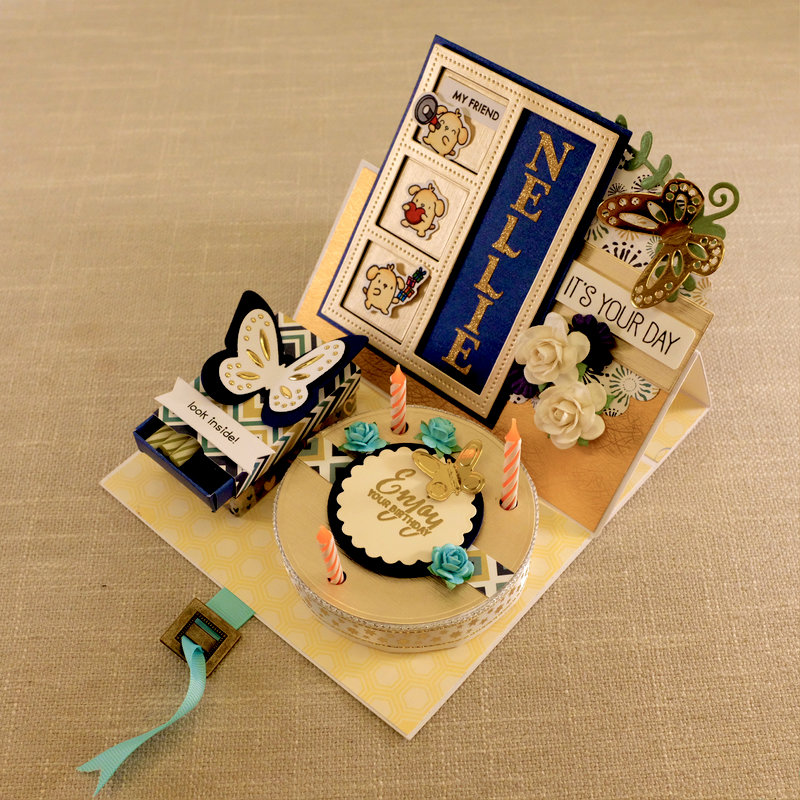Candle Cake Card