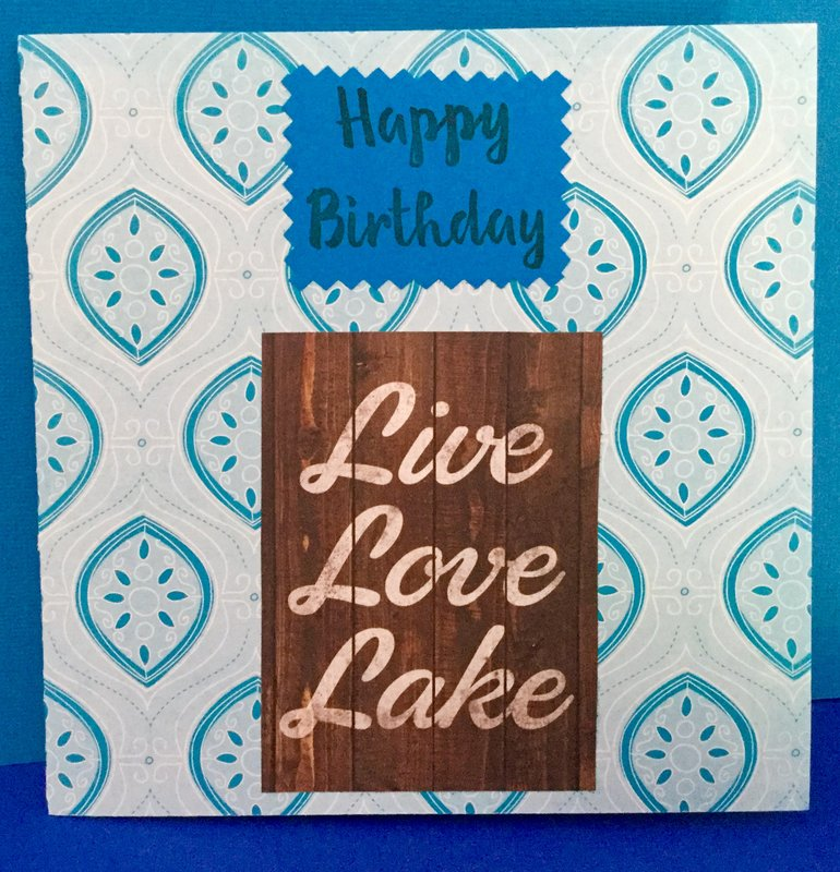 FRONT - Pop Up Book Birthday Card for Elderly Male Nature Lover