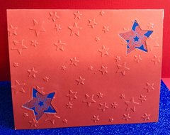 Front of Military Appreciation Pop-Up Card