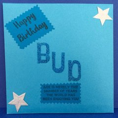 Envelope for Pop Up Book Birthday Card
