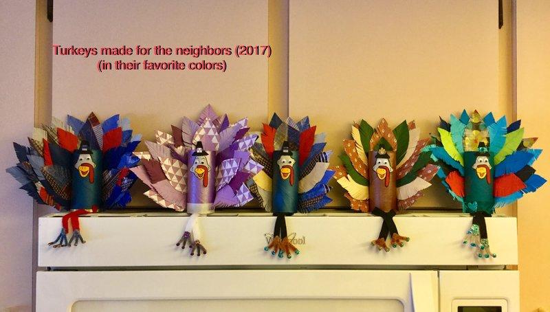 Toilet Paper Roll Turkeys - Gobble, Gobble